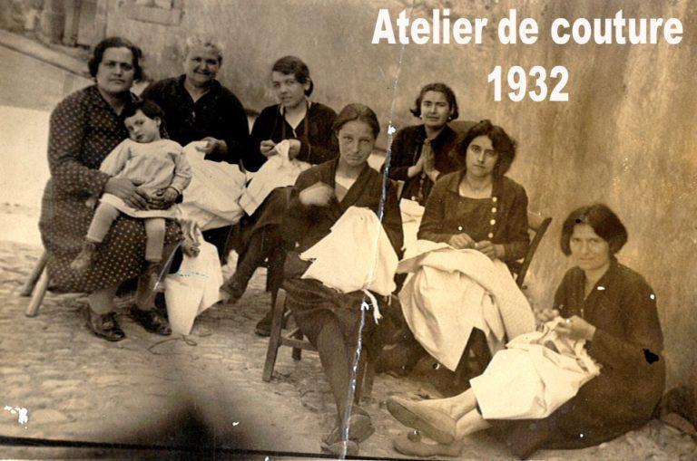 Atelier de couture 1932