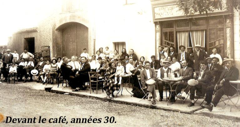 Café années 30