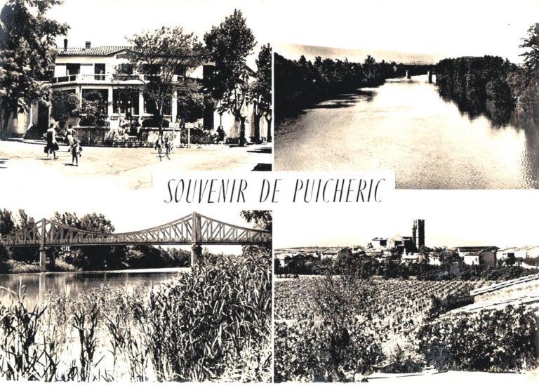 Carte postale 1961