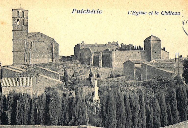 Château de Puichéric (au début du XXe siècle)