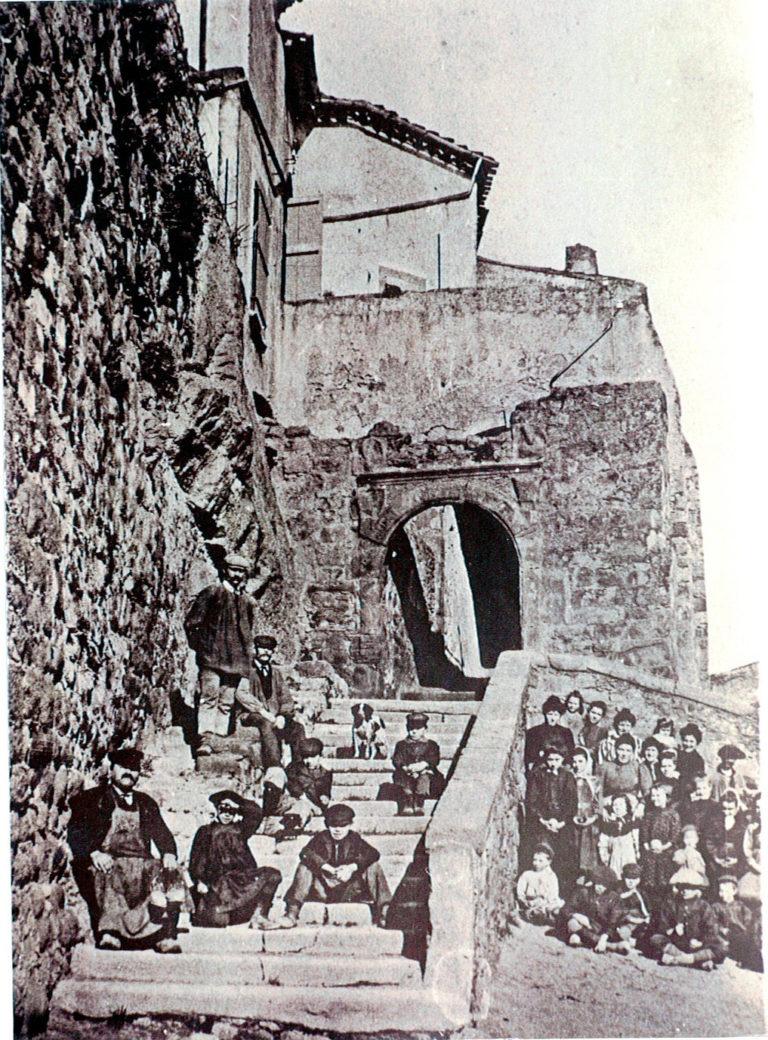 Entrée du château début du XXe siècle