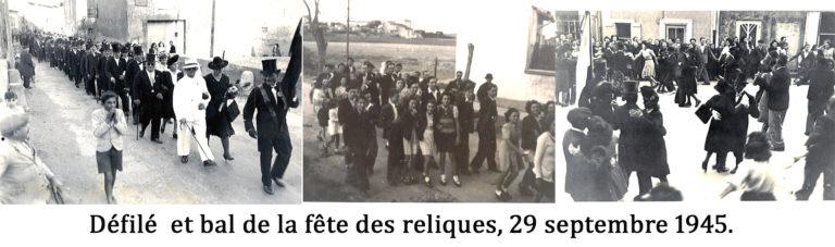 Fête des Reliques 1945