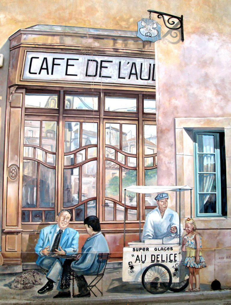 Fresque Rue de l'ancienne Poste