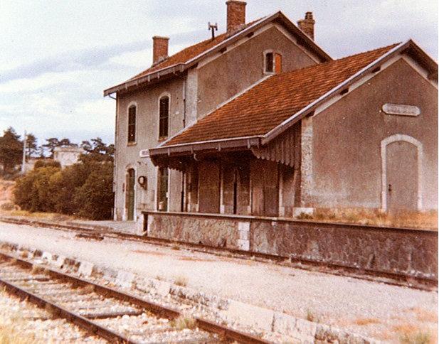 Gare 1960, mairie actuellement
