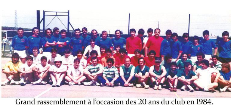 Rassemblement handball 1984