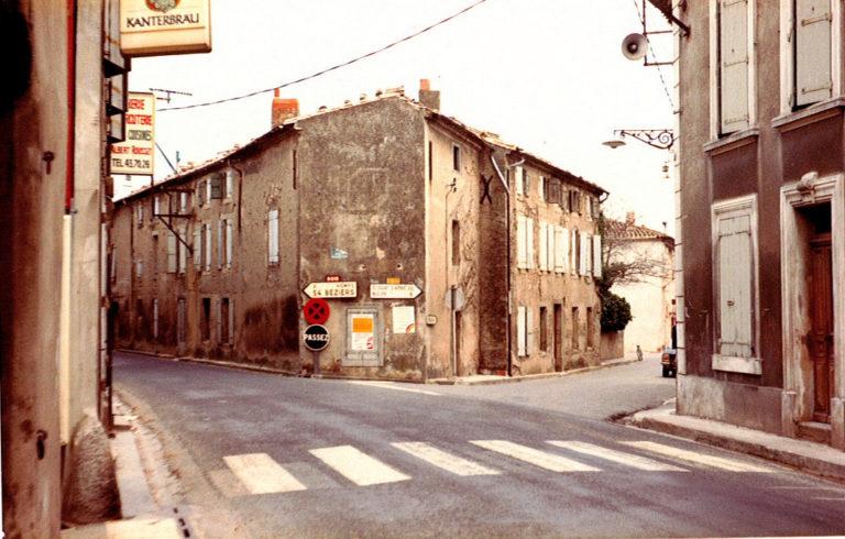 Place Cambriel avant démolition en 1979