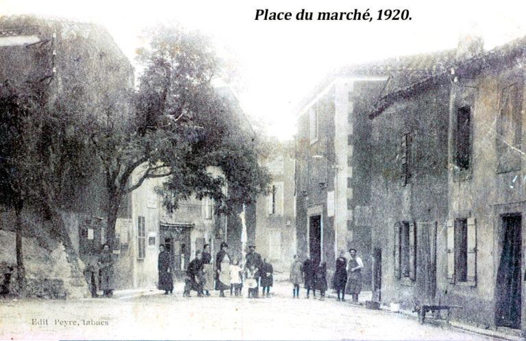 Place du marché 1920