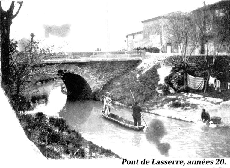 Pont de la Serre - Rigole