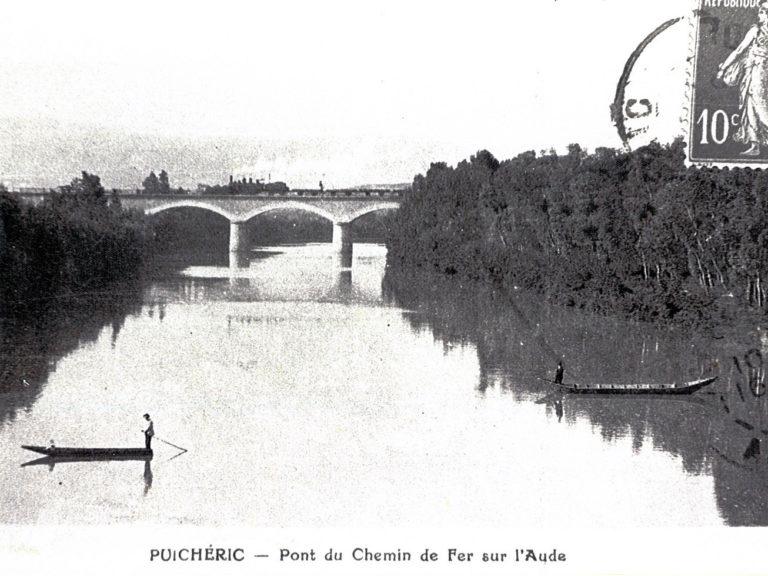 Pont du chemin de fer sur l'Aude