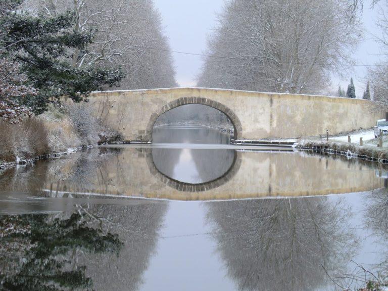 Pont en pierre Canal du Midi
