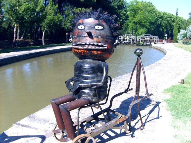 Sculpture écluse